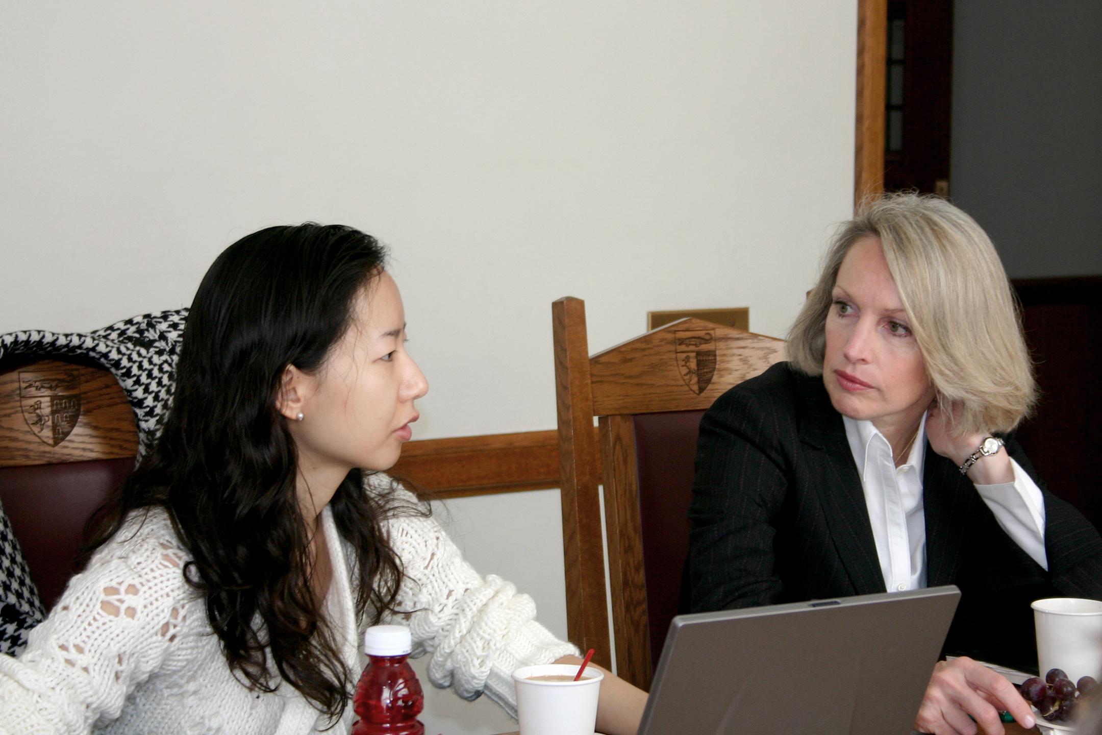 Kay Ng '07 and Joan Wood