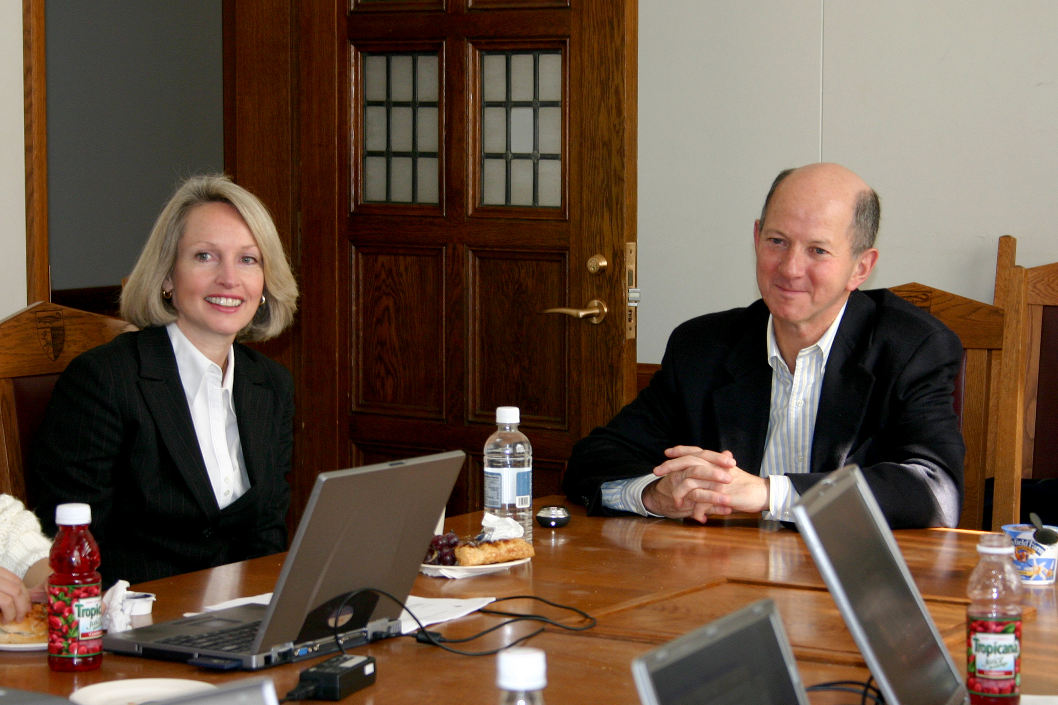 Joan Wood and James A. Geraghty '80
