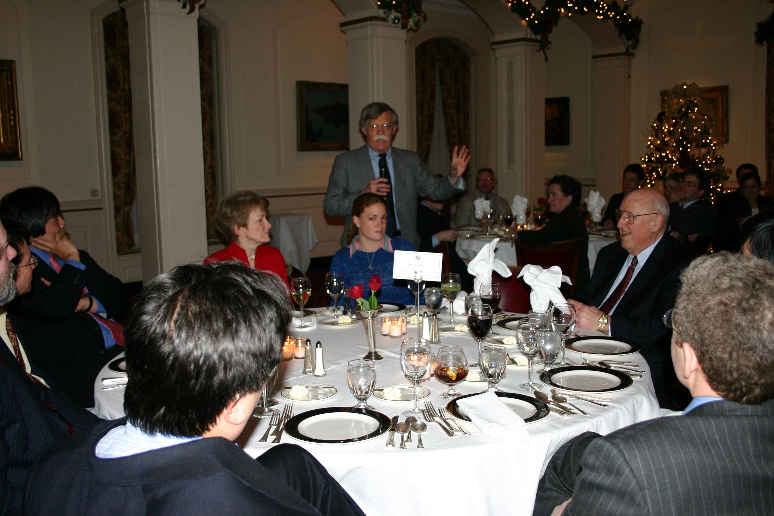 Ambassador John Bolton '74