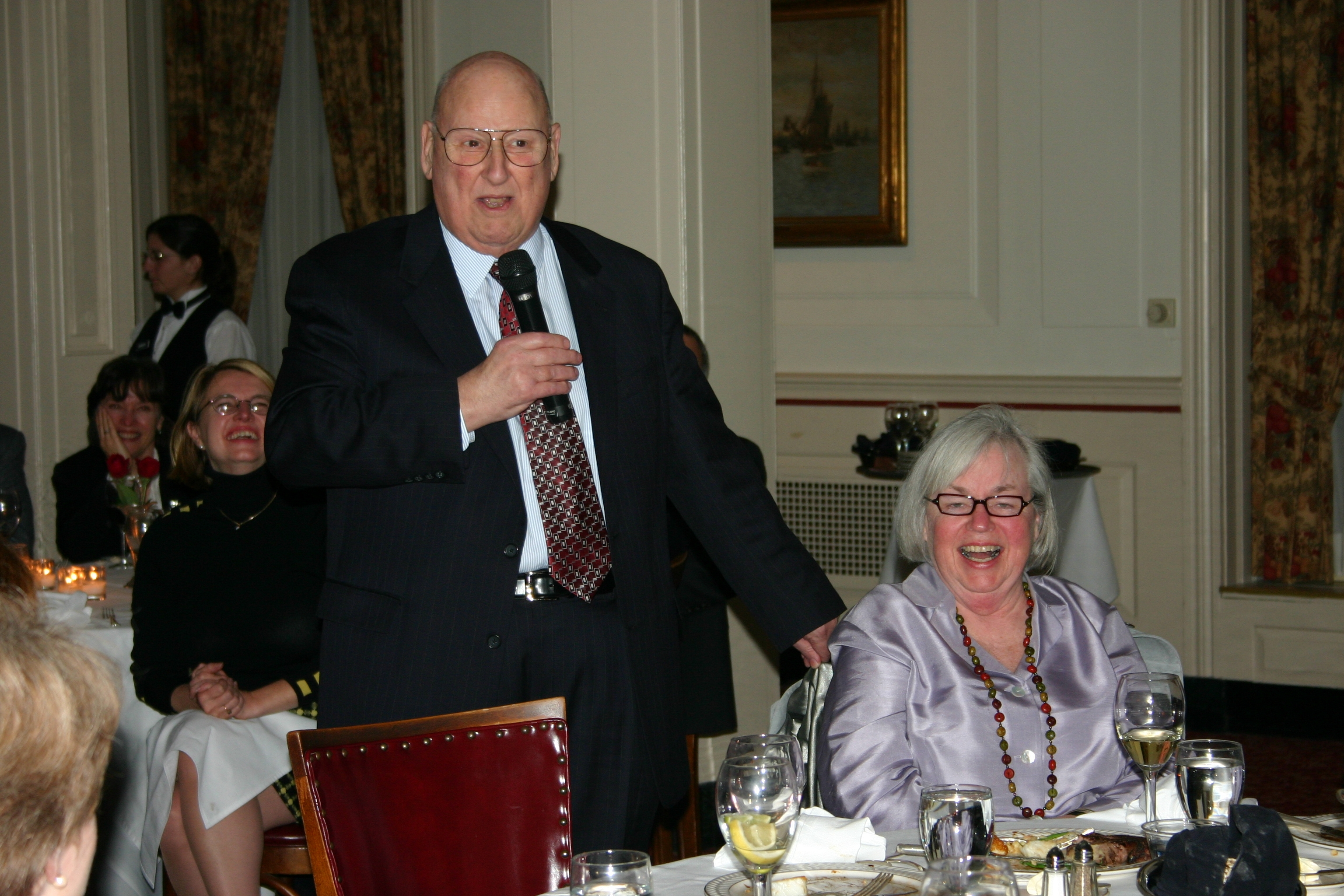 The Hon. Ralph Winter '60 and Kate Winter