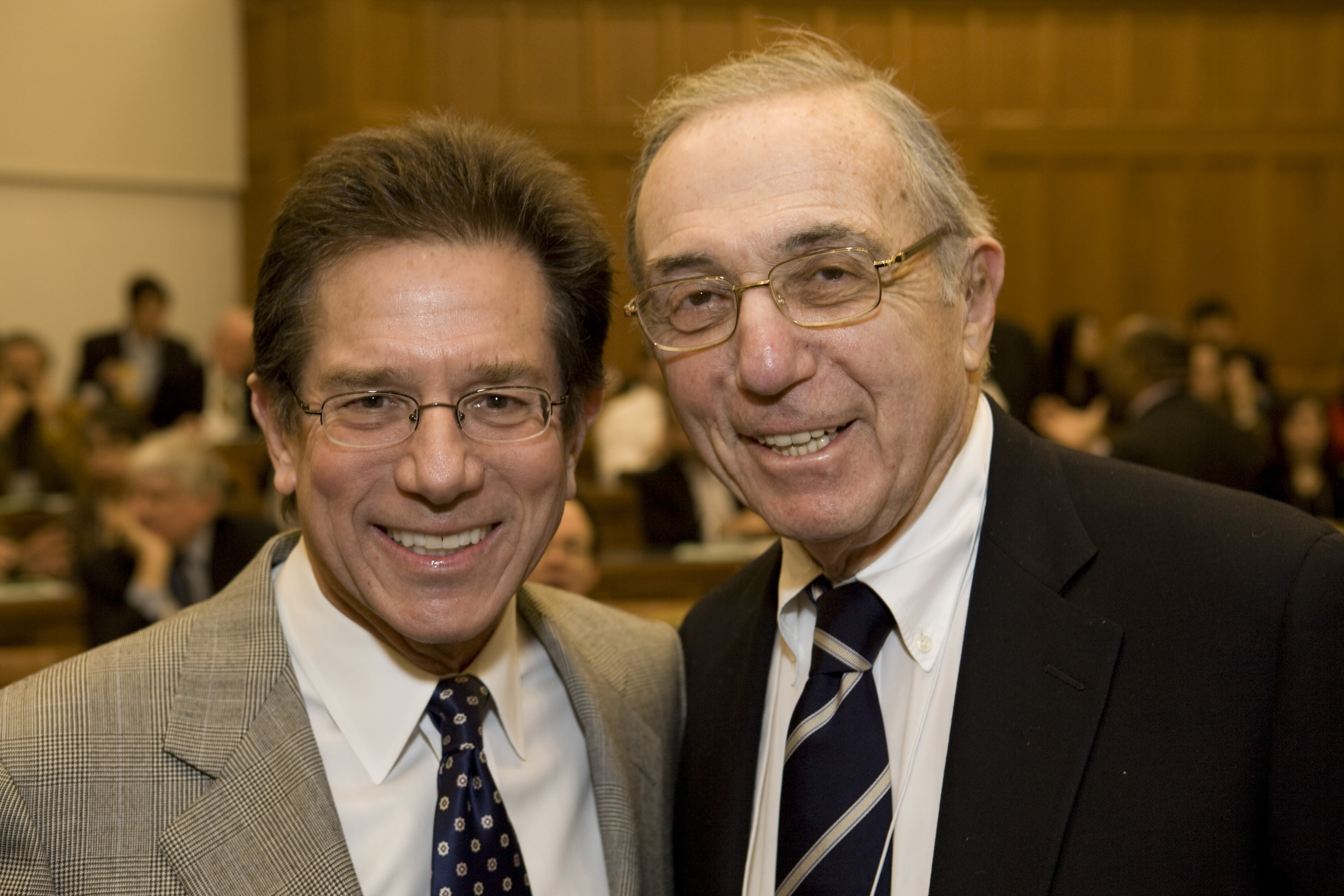 YLS Prof. Anthony Kronman '75 and Robert Todd Lang '47