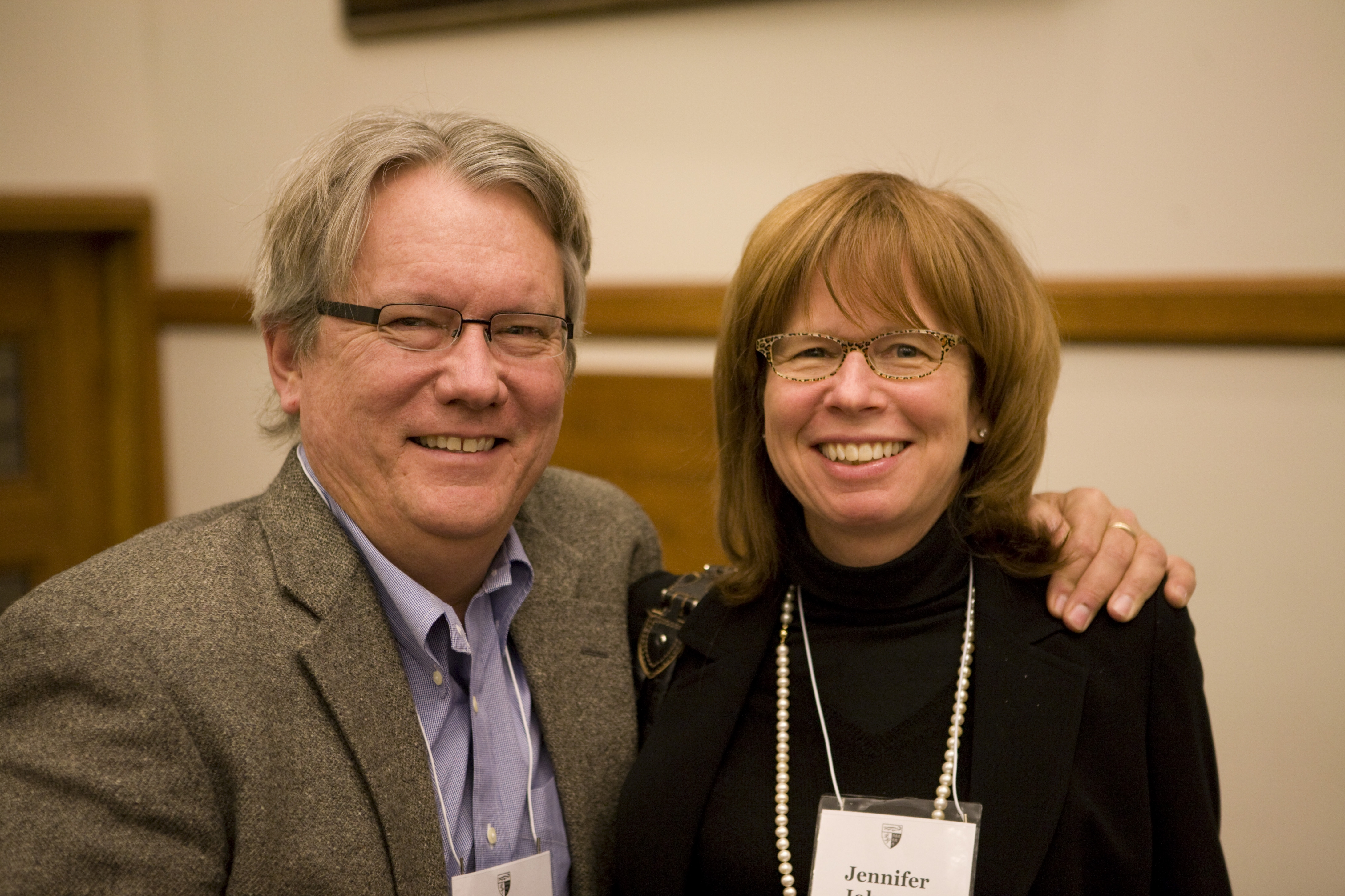 Maryland Law Prof. Richard Booth '76 and Lewis & Clark Law Prof. Jennifer Johnson '76
