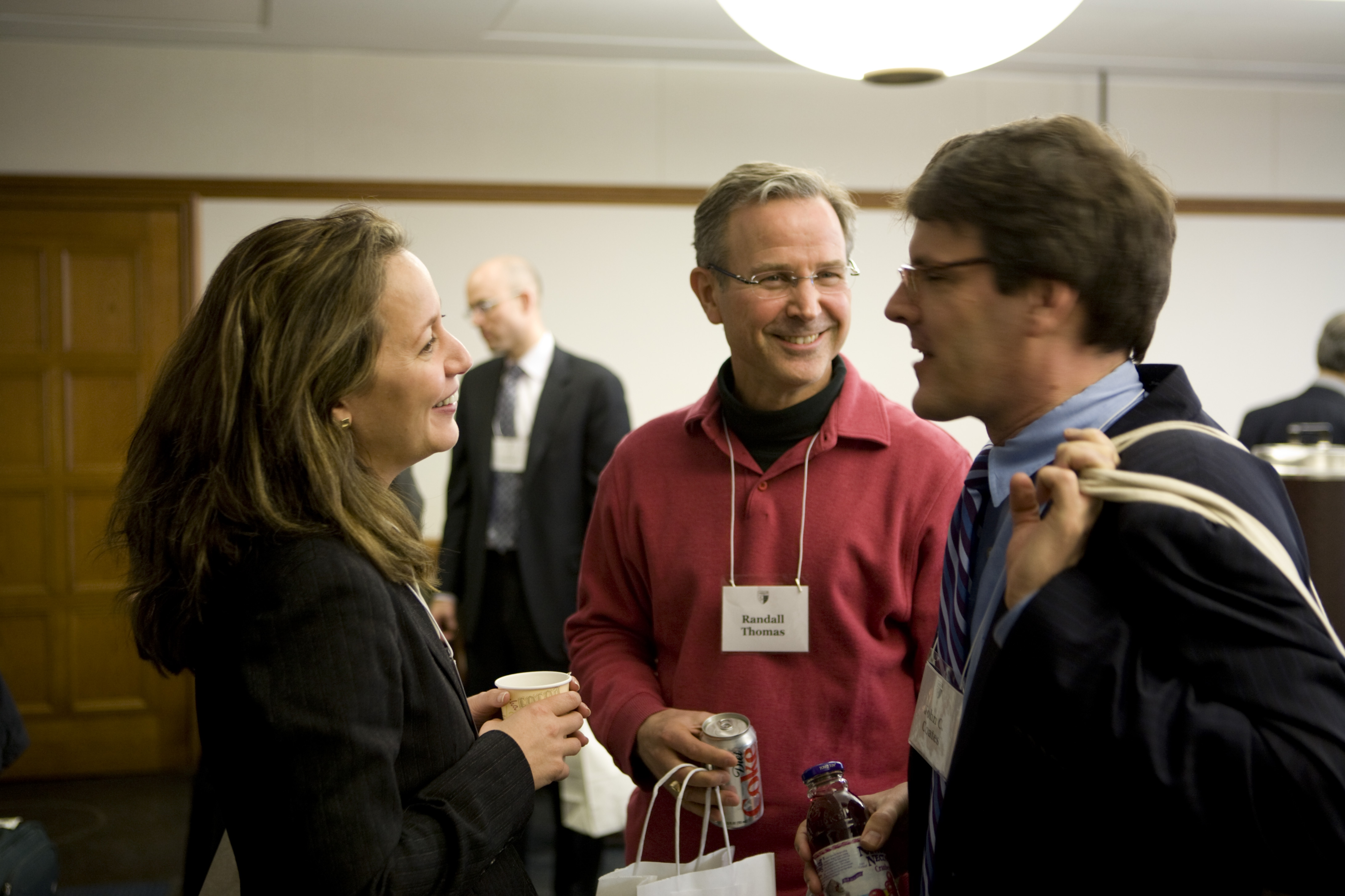 UVA Law Prof. Michal Barzuza, Vanderbilt Law Prof. Randall Thomas, and Harvard Law Prof. John Coates
