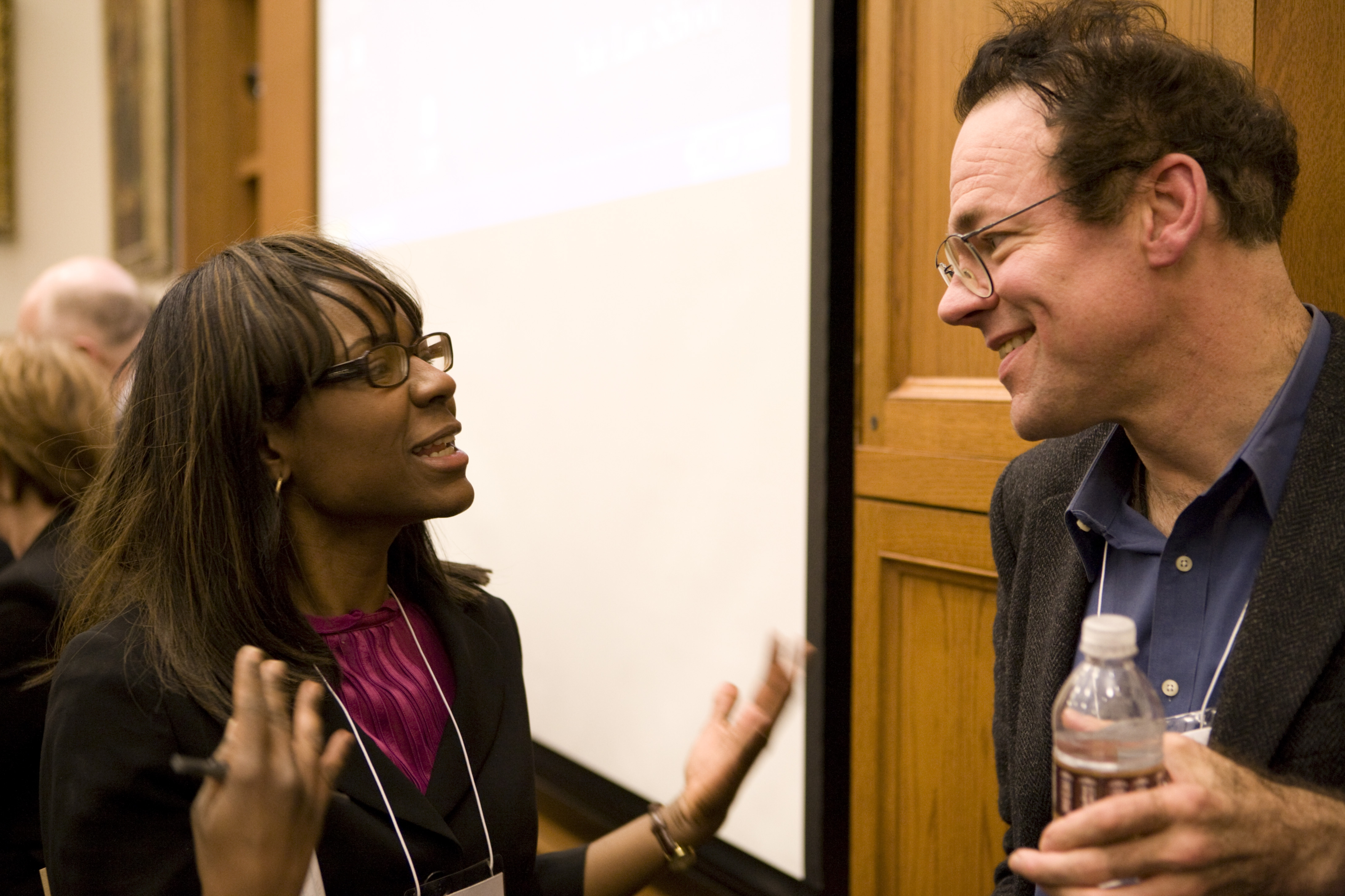 Michigan Law Prof. Alicia Davis Evans '98 and Cornell Law Prof. Robert Hockett LLM '03, JSD '06