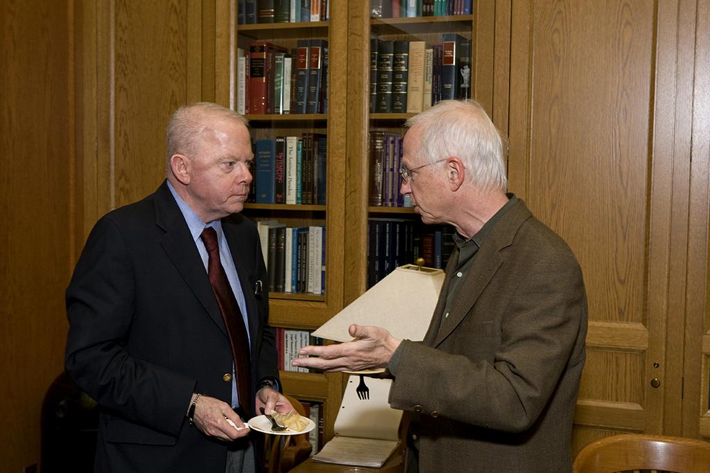 YLS Profs. John Langbein and Alan Schwartz '64