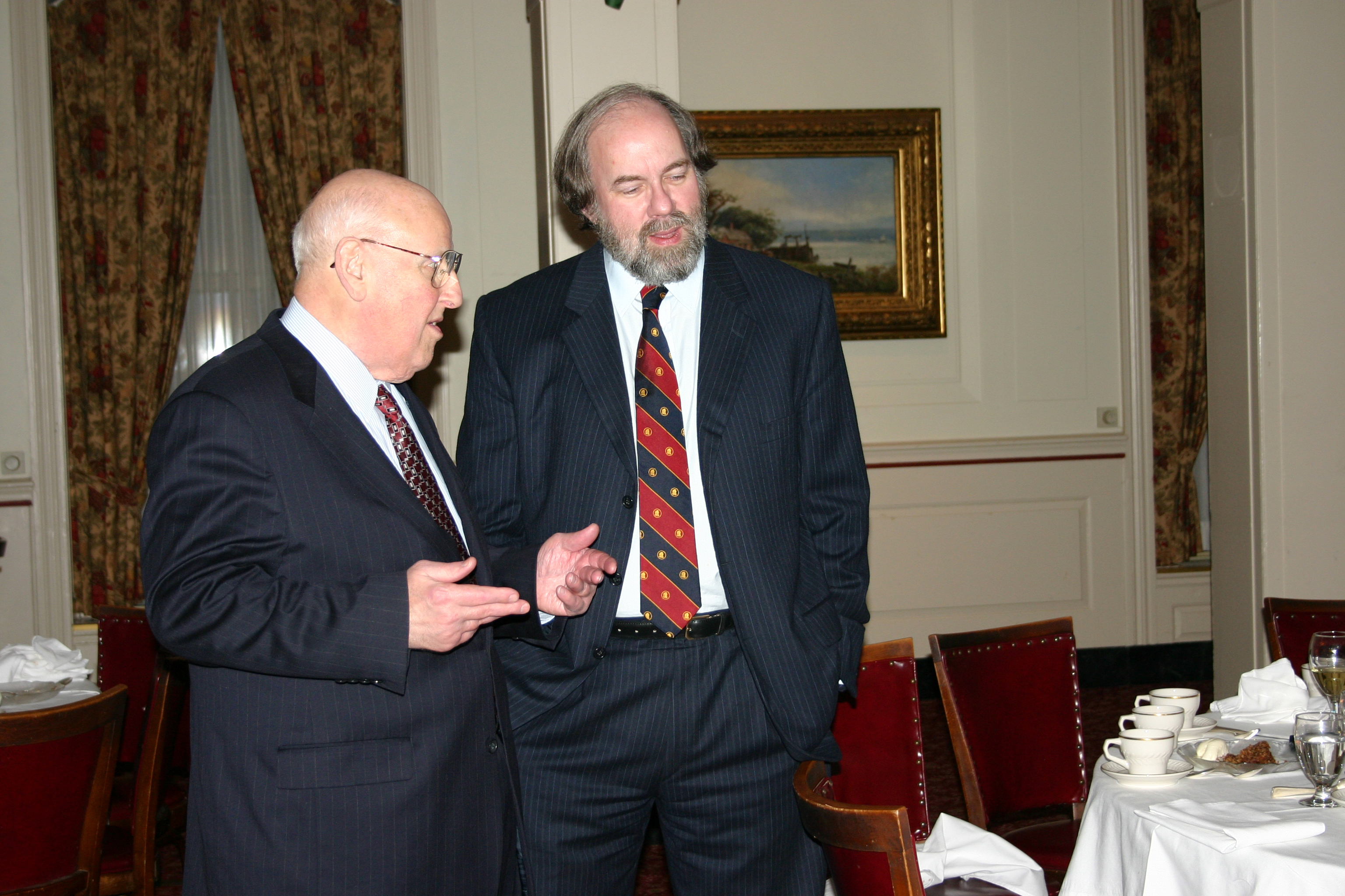 The Hon. Ralph Winter '60 and the Hon. Frank H. Easterbrook