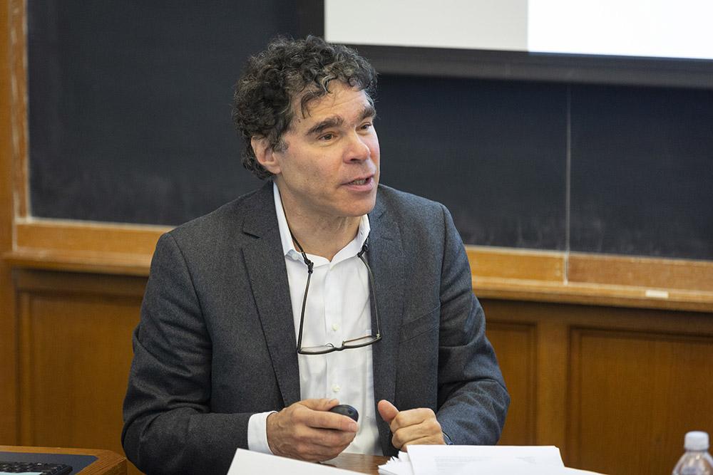 Yale Econ. Prof. John Geanakoplos