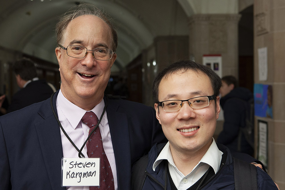 Steven Kargman and Ji Ma '18 (LL.M.)