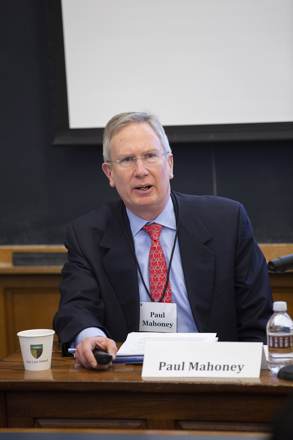 UVA Law Prof. Paul G. Mahoney '84