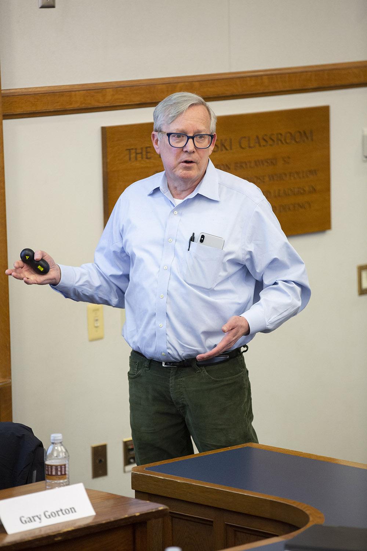 Yale SOM Prof. Gary B. Gorton