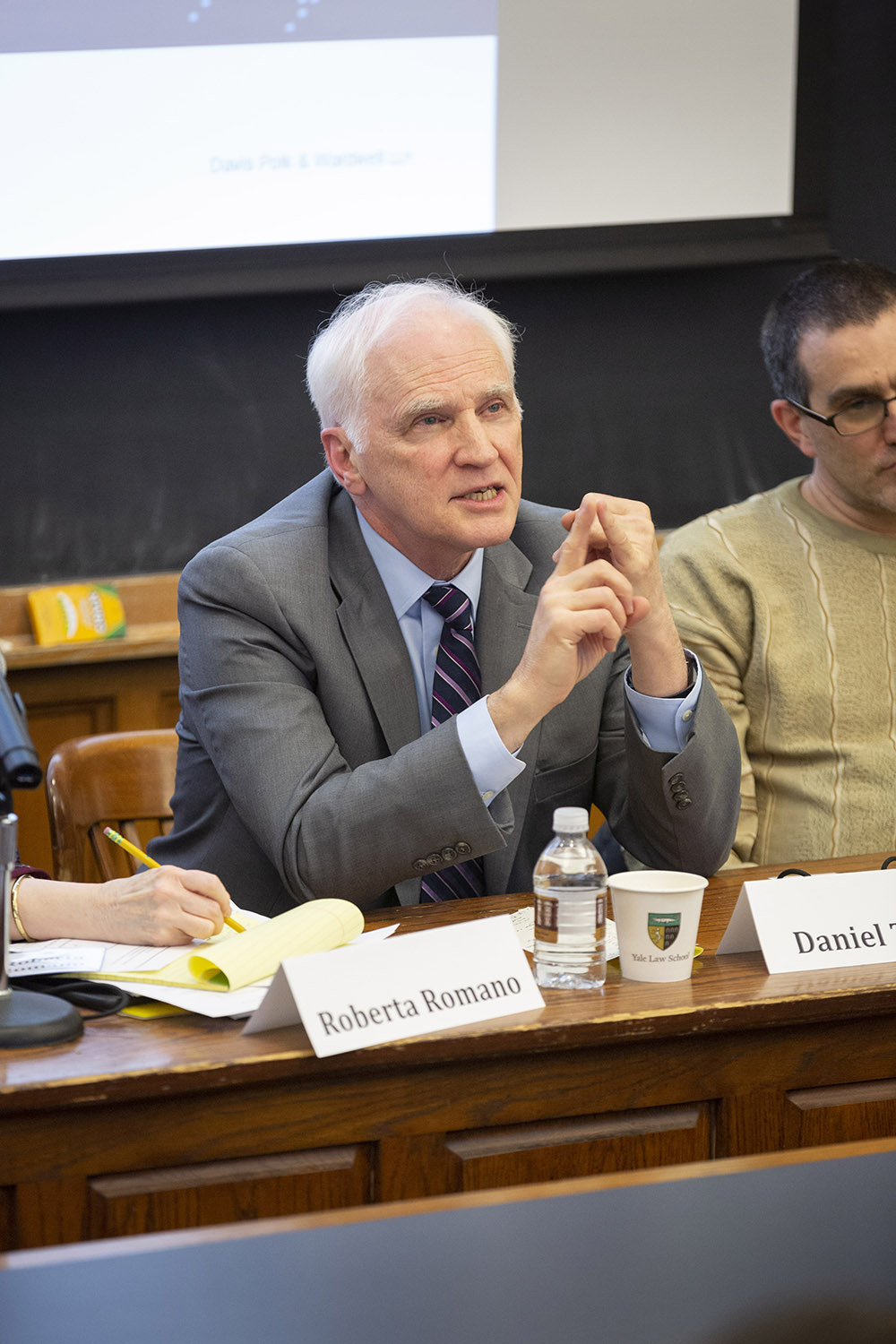 Harvard Law Visiting Prof. and former Fed. Res. Bd. Gov. Daniel K. Tarullo
