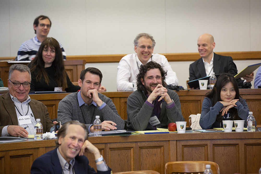 Audience at the 2019 Roundtable laughing